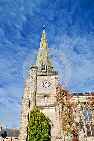 Free Clock Tower Of The Church Stock Photo - 141437450