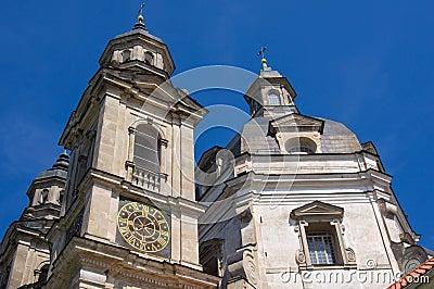 Clock Tower of Pazhayslissky monastery