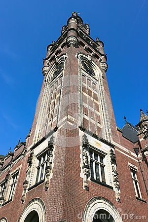 Clock Tower of the Peace Palace