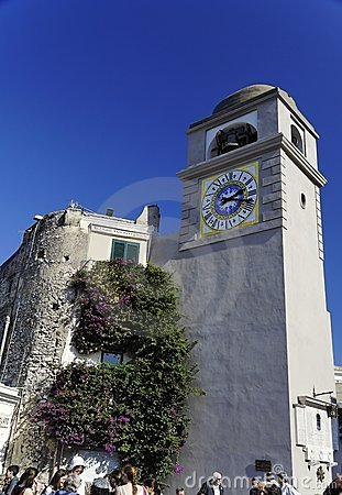 Clock Tower Piazza Umberto I Capri