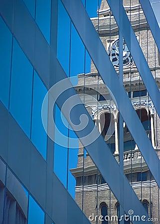 Clock Tower Reflect