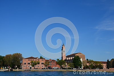 Clock tower and sea