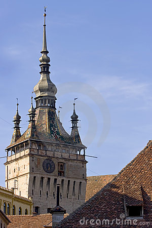 The clock tower from Sighisoara