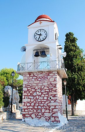 Clock tower, Skiathos