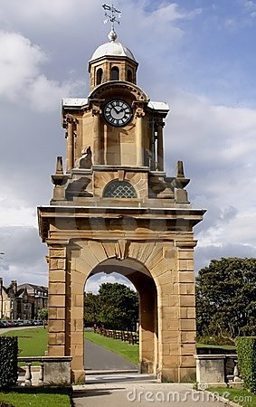 Free Clock Tower South Bay Scarborough Stock Image - 1671851