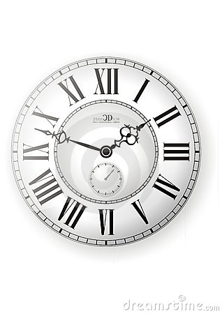 Free Clock Vector Royalty Free Stock Photo - 6321045