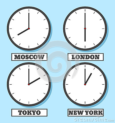 Clock-03 Vector Illustration