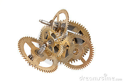 Clockwork gears