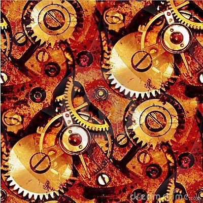 Free Clockwork Gears Abstract Stock Images - 14104194