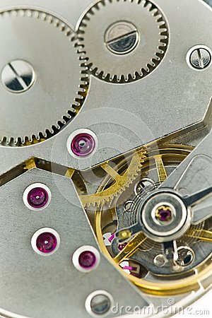 Clockworks with gears