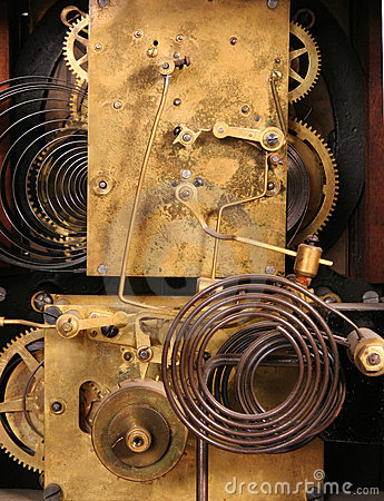 Free Clockworks In Color Stock Image - 839131