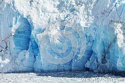 Cloeup of Glacier