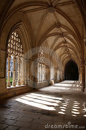 Free Cloister Royalty Free Stock Photo - 3194175
