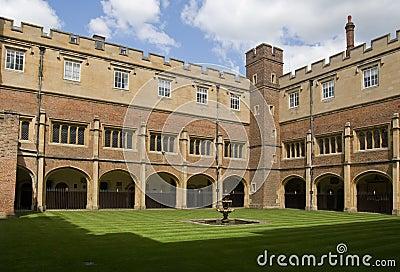 Cloisters at Eton College, Berkshire