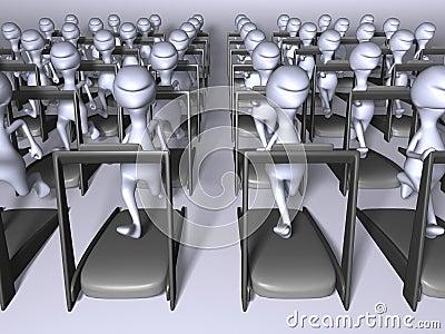 Clones running