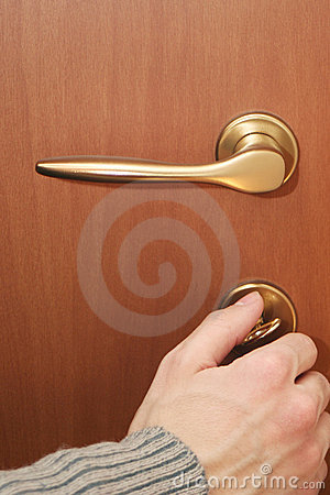 Free Close Door Royalty Free Stock Photo - 570105