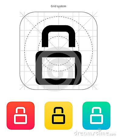 Close padlock icon.