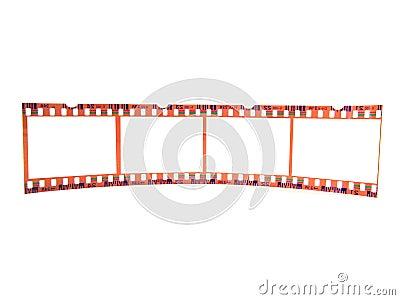 Close-up of 35 mm flim-strip (single)