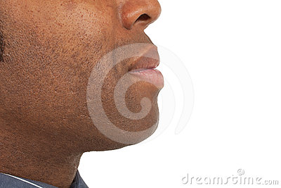 Close-up of african man