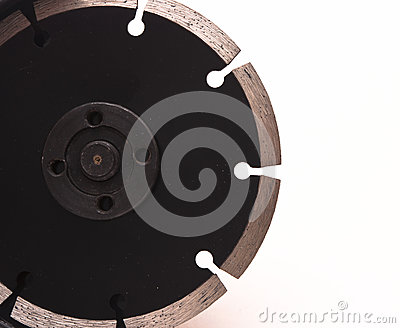 Close-up angle-grinder