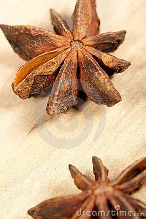 Close-up of anise