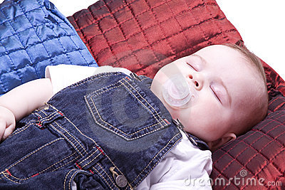 Close up on a Baby Sleeping