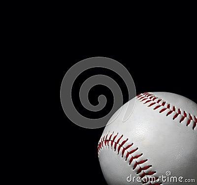 Close-up of baseball