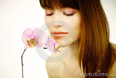 Close Up Of A Beautiful Woman's Face Stock Images - Image: 19920874