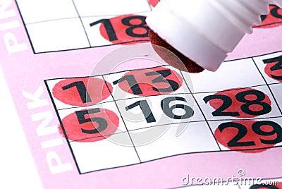 Close up bingo