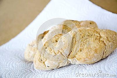 Close up bread