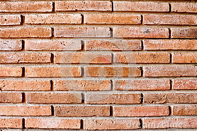 Close up brick wall background texture