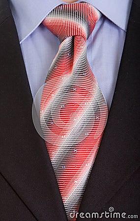 Free Close Up Businessman Tie Stock Photo - 4161100