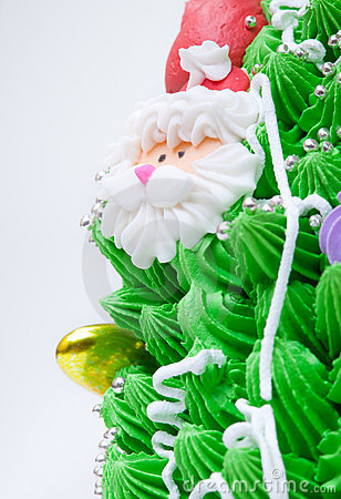 Close-up of cake decorations