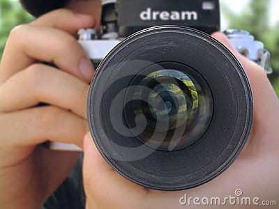 Close Up Camera Royalty Free Stock Images - Image: 193839