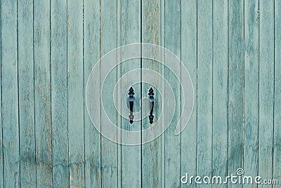 Close-up Closed Door