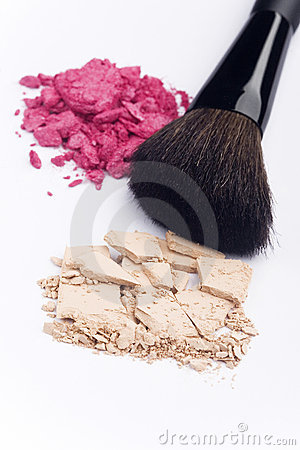 Close up of cosmetic products