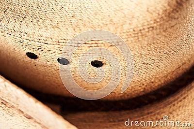 Cowboy hat close up