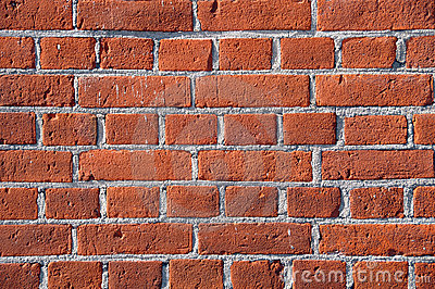Close up cphoto of red brick