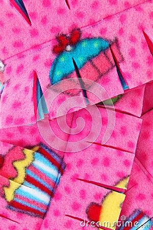Close Up Cupcake Scarf