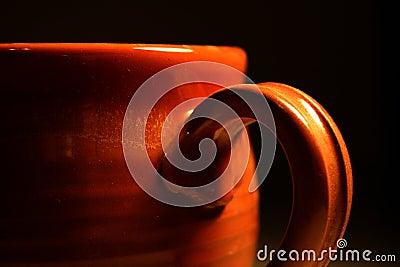 Close-up de um copo