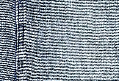 Close-up of the denim cloth