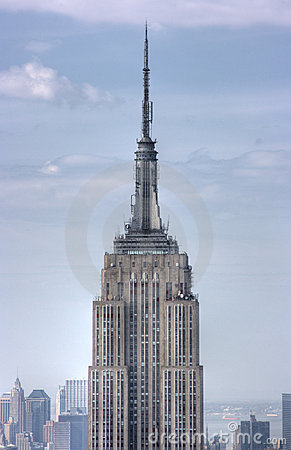 Close up Empire State Building Editorial Image