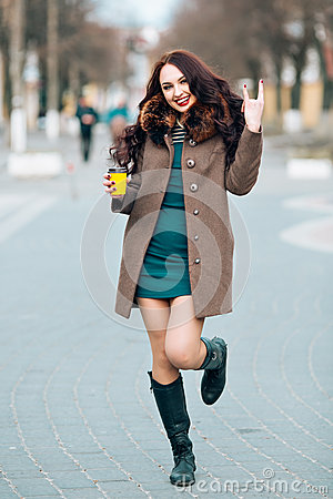 Free Close-up Funny Image Of Laughing Woman,emotional Crazy Smiling Beautiful Teen Girl,emotional Model In Bright Hipster Stock Images - 68859684