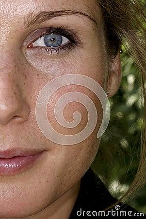 Close-up girl 2