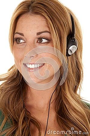 Close up head phones