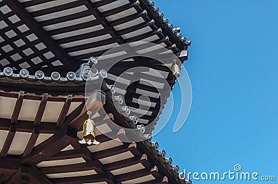 Close-Up Japanese Pagoda