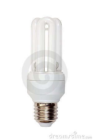 Close up of a light bulb