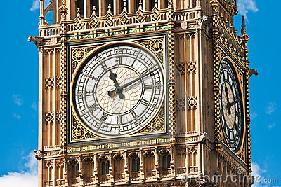 Close up of the London s Big Ben
