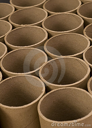 Close up of Mailing Tubes