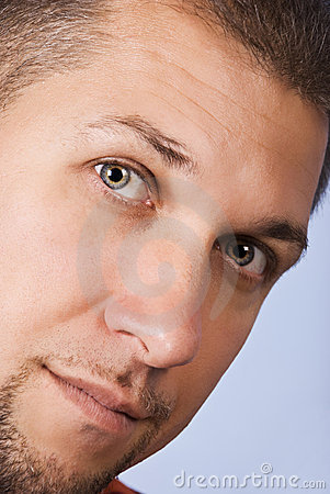 Free Close Up Man Face Royalty Free Stock Photo - 10827325